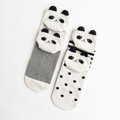 LA SHOP - Set of 4: Panda Socks