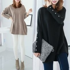 MayFair - Loose-Fit Knit Top