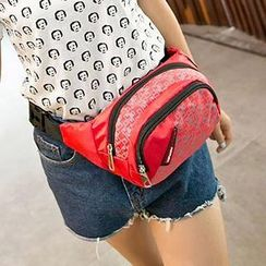Top Seeka - Print Nylon Waist Bag