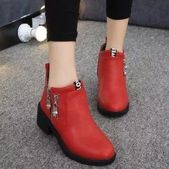 Yoflap - Zip Ankle Boots