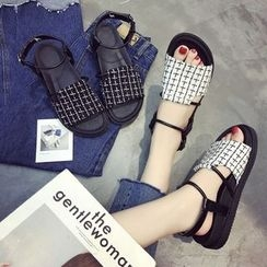 Chryse - Plaid Sandals