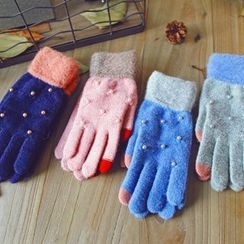 Lose Show - Beaded Touchscreen Gloves