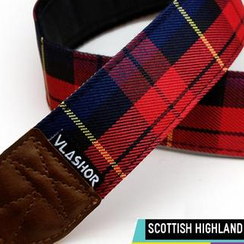 Vlashor - Scottish Highland DSLR Strap