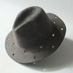 EVEN - 鏤空星星禮帽