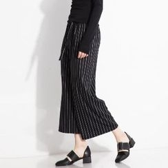 Halona - Striped Wide-Leg Pants