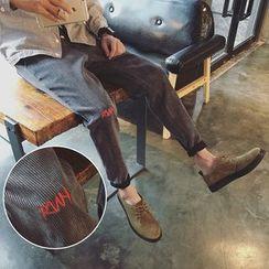 Breeson - 灯芯绒哈伦裤