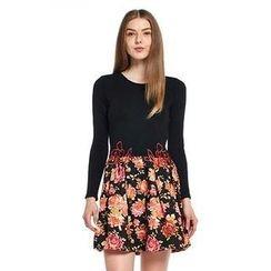 O.SA - Mock Two-Piece Dress