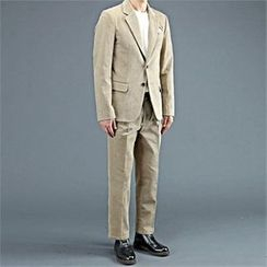 THE COVER - Set: Corduroy Blazer + Dress Pants