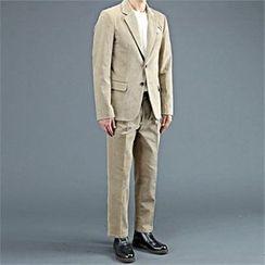 THE COVER - Set: Corduroy Blazer + Dress Pants