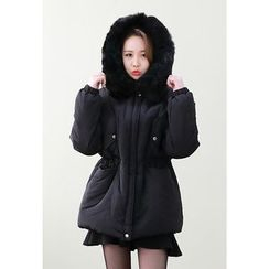 Dalkong - Faux-Fur Hooded Puffer Parka