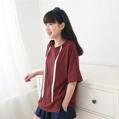 Meimei - Short Sleeve Hoodie