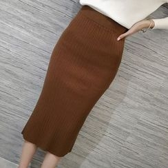 Honeydew - 針織中長裙