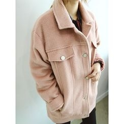LOLOten - Collared Metal-Button Jacket