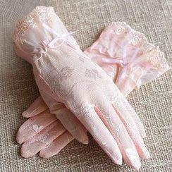 羚羊早安 - 蕾絲手套
