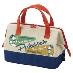 Skater - Mickey Mouse Cotton Linen Lunch Bag