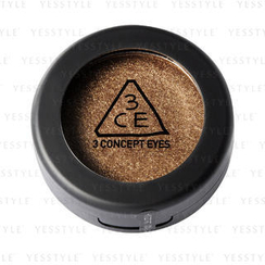 3 CONCEPT EYES - One Color Shadow - Sparkling (Gold Shower)