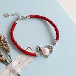 Love Generation - Rhinestone Charm Bracelet