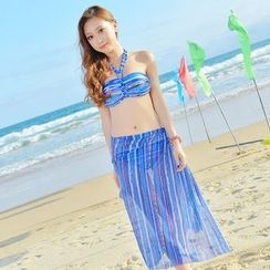 Rita Zita - Set: Halter Bikini + Cover-Up
