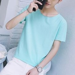 DragonRoad - Plain Short Sleeve T-Shirt