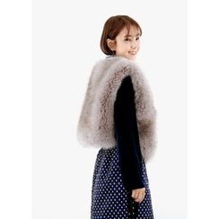 ssongbyssong - Faux-Fur Vest
