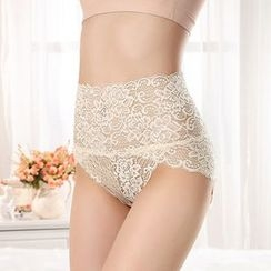 Sophine - Lace High-Waist Panties