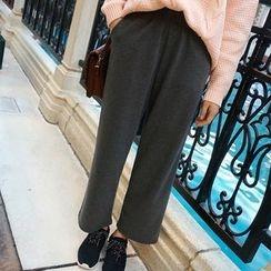Fancy Show - Cropped Wide-Leg Pants