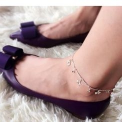 Coolgirl - 925 Sterling Silver Anklet (Various Designs)