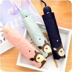 Desu - Automatic Deer Print Umbrella