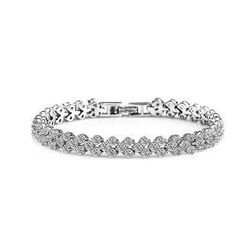 BELEC - 925 Sterling Silver with White Cubic Zircon Bracelet
