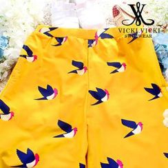 Vicki Vicki - Bird Print Swim Shorts