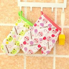 Good Living - Printed Oven Gloves