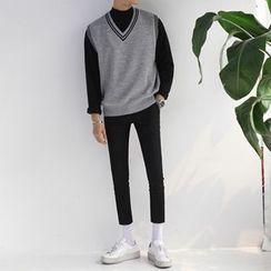 匡亿 - 修身长裤
