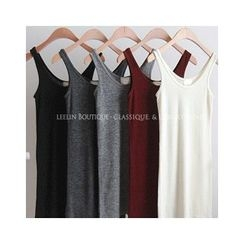 LEELIN - Plain Tank Top
