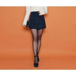 HOTPING - Pocket-Detail Pencil Skirt