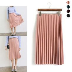 HotBlock - Pleated Midi Skirt