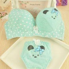 Heart2Heart - Set: Printed Bra + Panties
