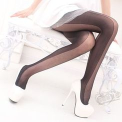 MEIA - Color Block Tights