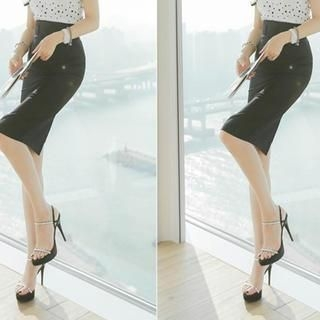 vivaruby - High-Waist Pencil Skirt