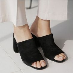 Zandy Shoes - Mule Sandals
