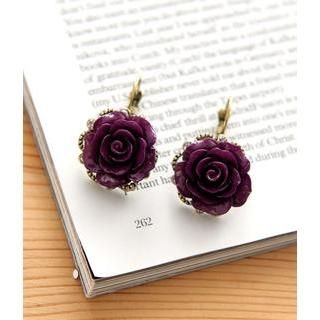 Petit et Belle - Rose Earrings