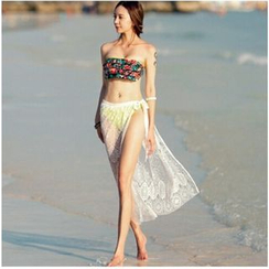 Fundae - Lace Cover-up Skirt