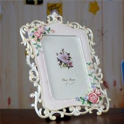 Retro Times - Floral Photo Frame