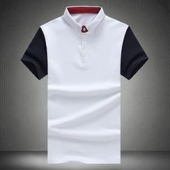 Alvicio - Color Block Polo Shirt