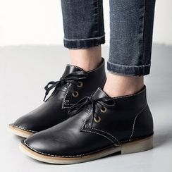 MIAOLV - Faux Leather Oxfords