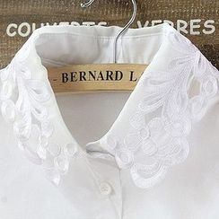 Debii - Cutout Embroidered Decorative Collar