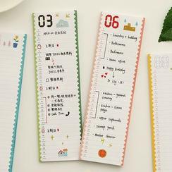 NANA STORE - Monthly Plan Sticky Note