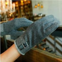 Lose Show - Patterned-Panel Gloves