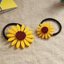 Oohlala! - Sunflower Hair Clip / Hair Tie / Brooch