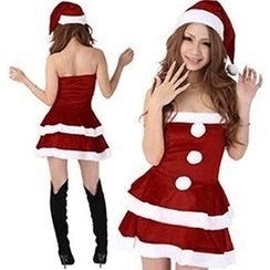 Cosgirl - Santa Party Costume