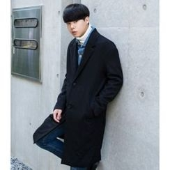 ABOKI - Notch-Lapel Coat